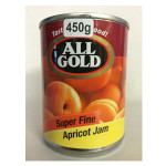 All Gold Super Fine Apricot Jam 450g