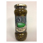 Bandito's Pickled Jalapeno Peppers 400g