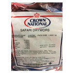 Crown National Safari Drywors 1kg