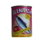 Glenryck Pilchards in Hot Chilli Sauce 400g