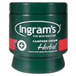 Ingrams Camphor Cream Herbal 500ml