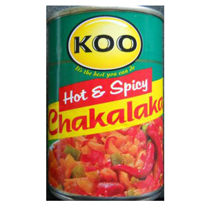 Koo Chakalaka Hot & Spicy 410g