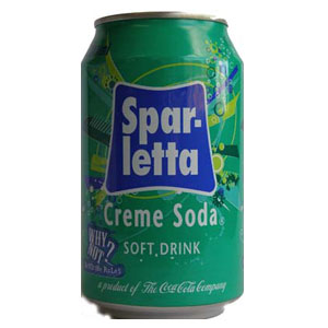 Spar-letta Creme Soda 330ml