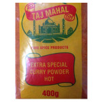 Taj Mahal Hot Curry Powder 400g