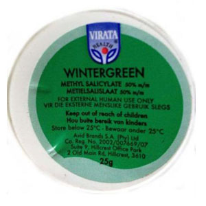Wintergreen Rub 2g